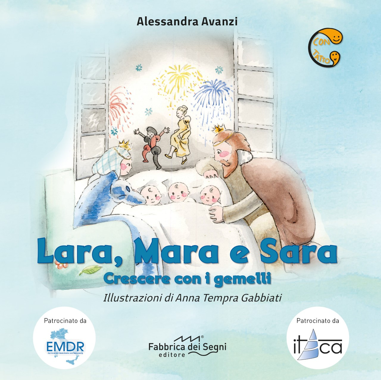 Lara, Mara e Sara – Growing with the Twins